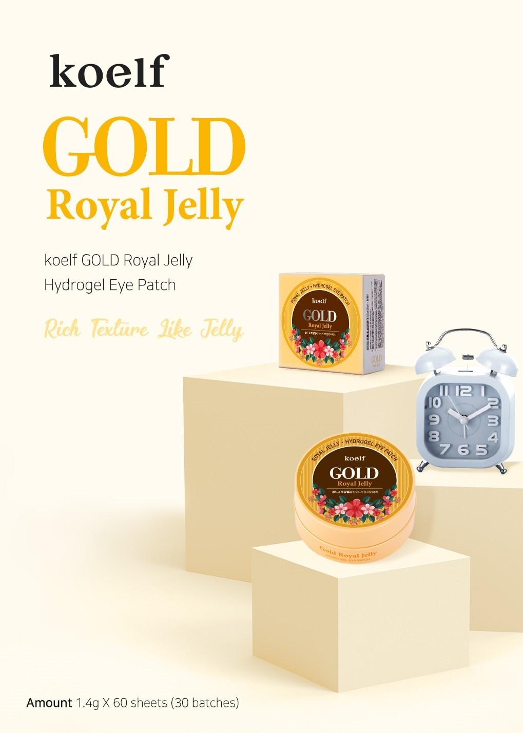 Gold & Royal Jelly Eye Patch-2