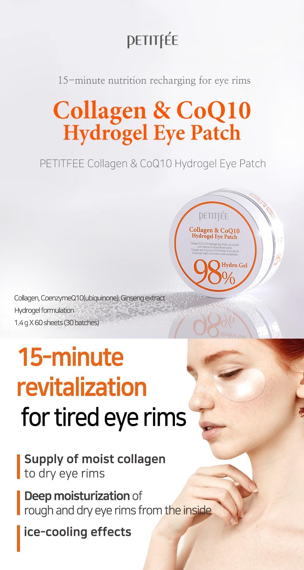 Collagen & CoQ10 Hydrogel Eye Patch-2