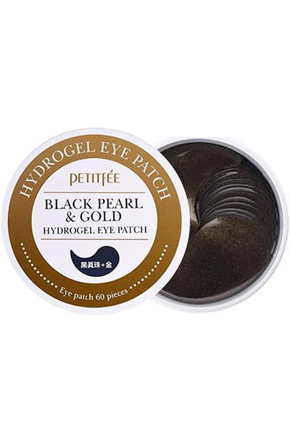 Black Pearl & Gold Eye Patch