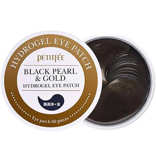 Black Pearl & Gold Eye Patch-1