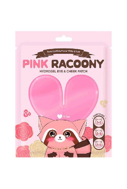 Pink Racoony Hydrogel Eye & Cheek Patch