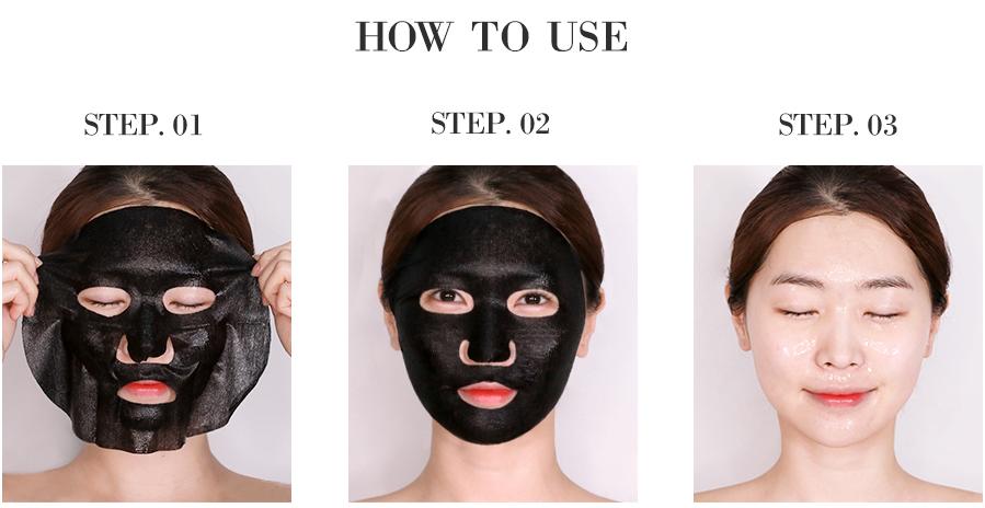 Bombee Black Honey Mask-7