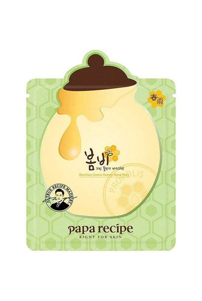 Bombee Green Honey Mask