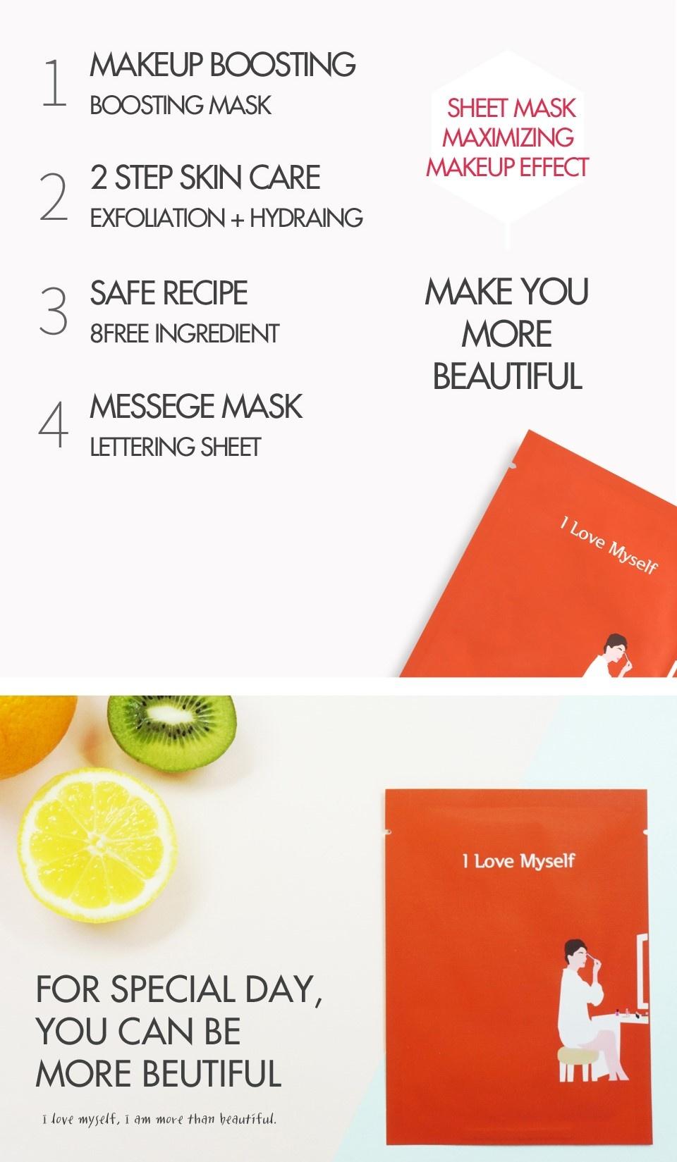 I LOVE MYSELF makeup boosting mask-5