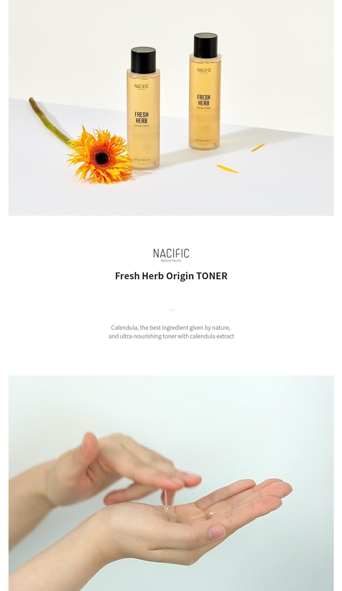 Fresh Herb Origin Kit (Tuchmaske + Toner 30ml)-4