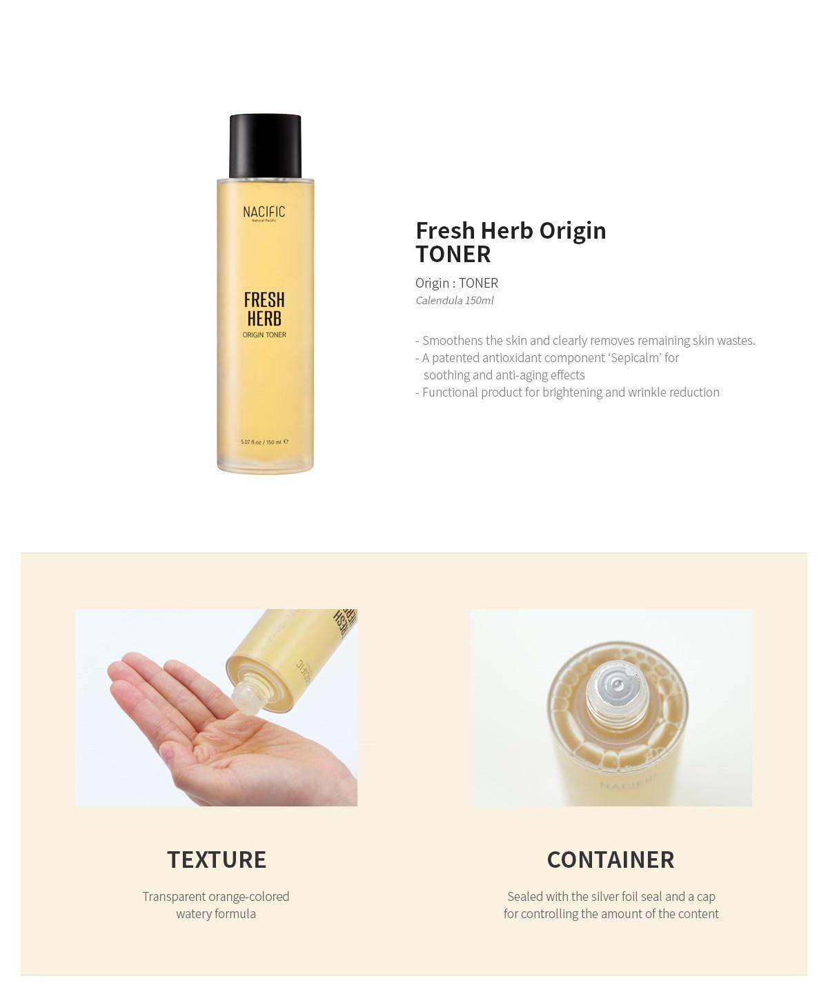Fresh Herb Origin Kit (Tuchmaske + Toner 30ml)-5