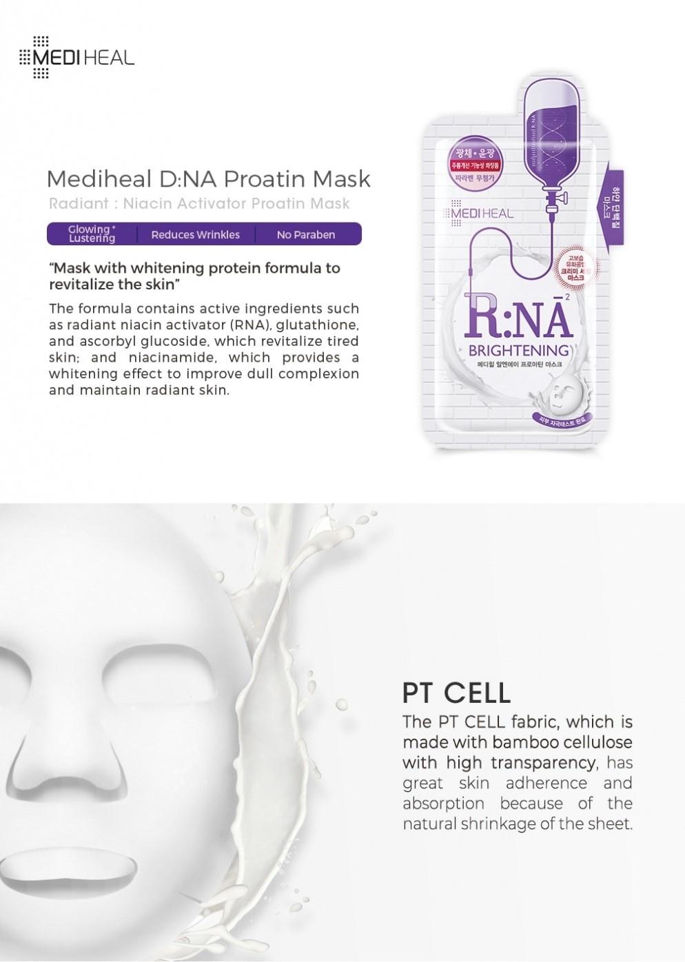 Proatin Mask R.NA Brightening-3