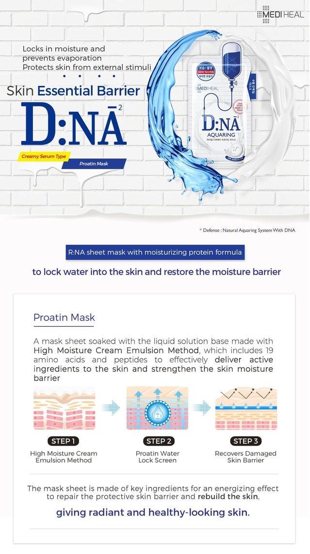 Proatin Mask D.NA Aquaring-2