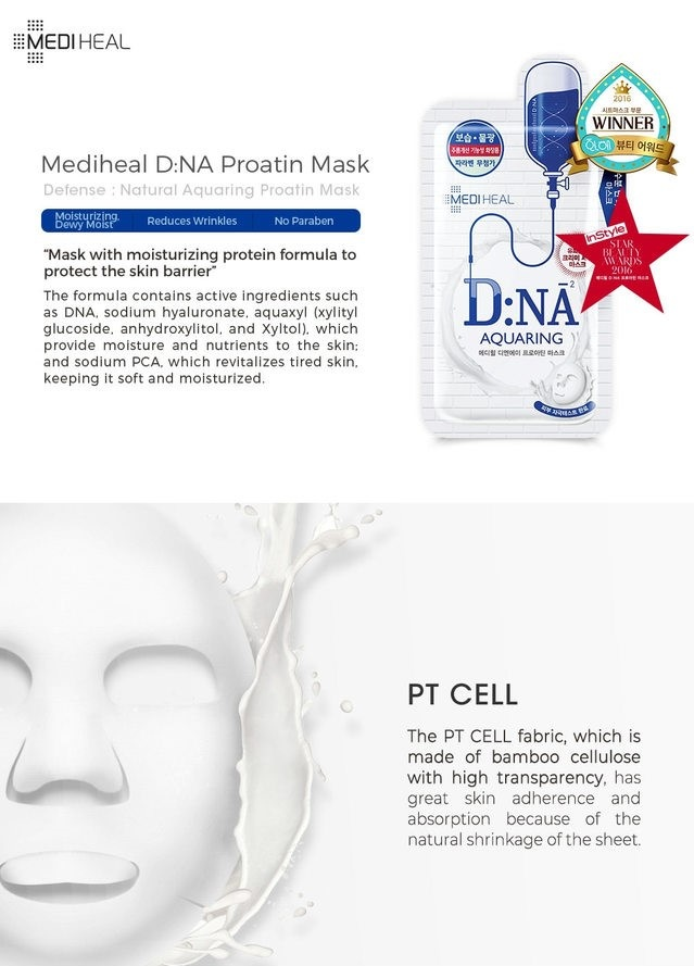 Proatin Mask D.NA Aquaring-3