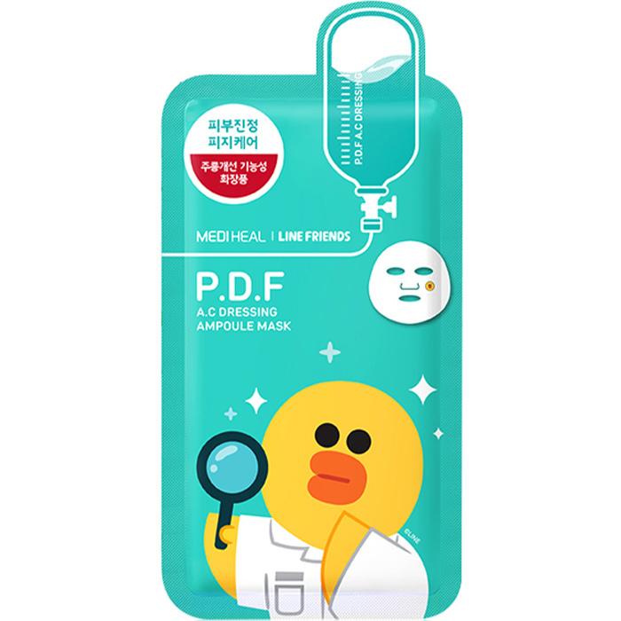 P.D.F AC Dressing Ampoule Mask  (Line Friends Edition)-1