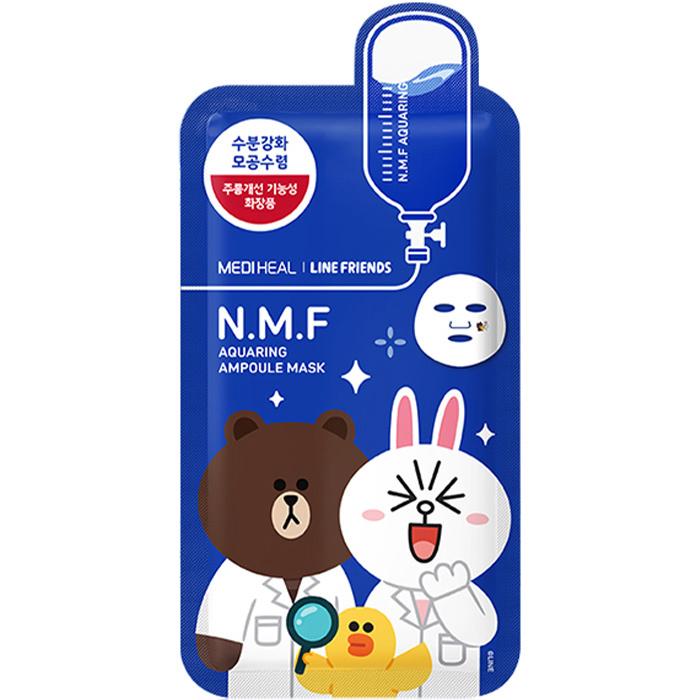 N.M.F Aquaring Ampoule Mask (Line Friends Edition)-1