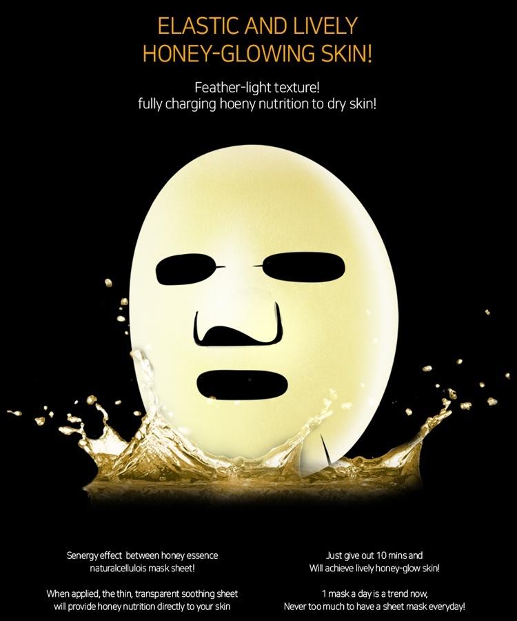 Honey Luminous Royal Propolis Mask-5