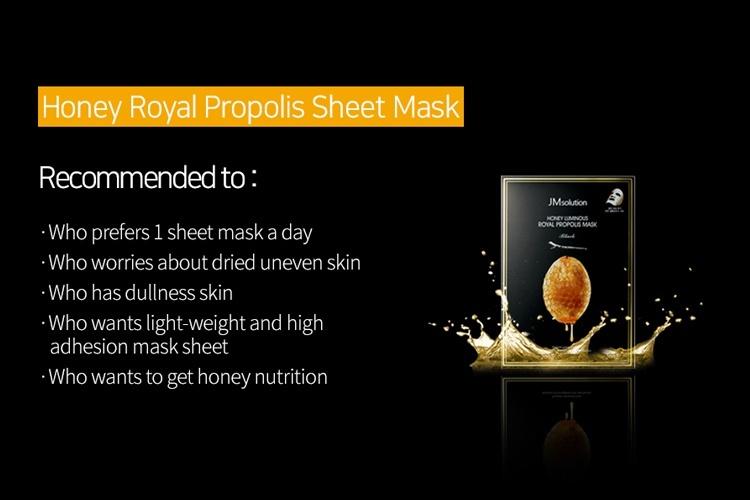 Honey Luminous Royal Propolis Mask-10