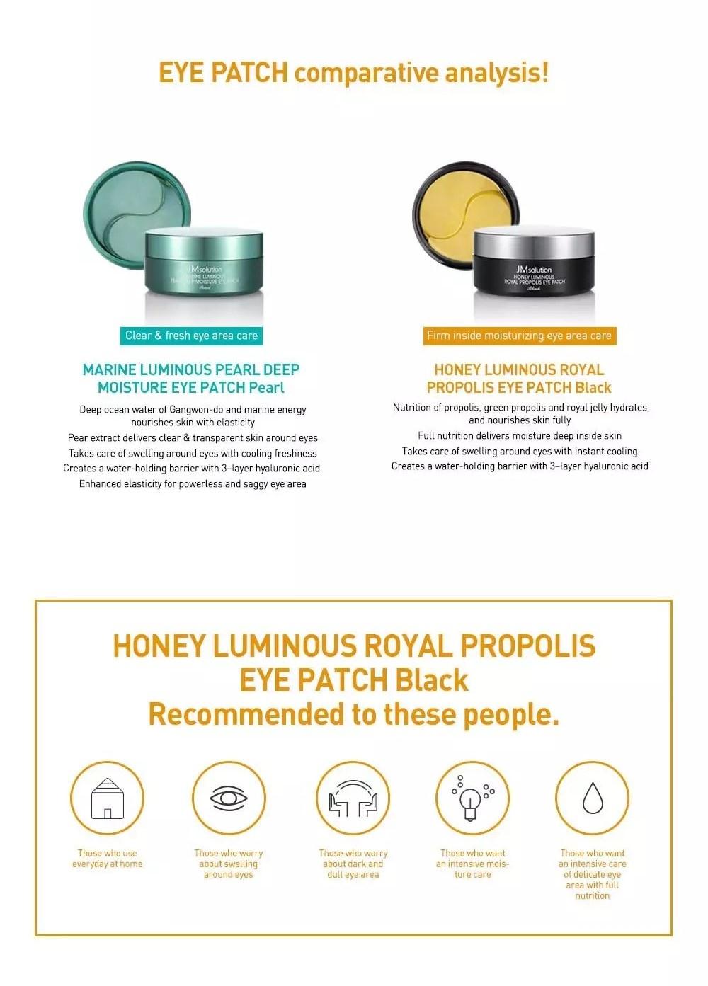 Honey Luminous Royal Propolis Eye Patch-7