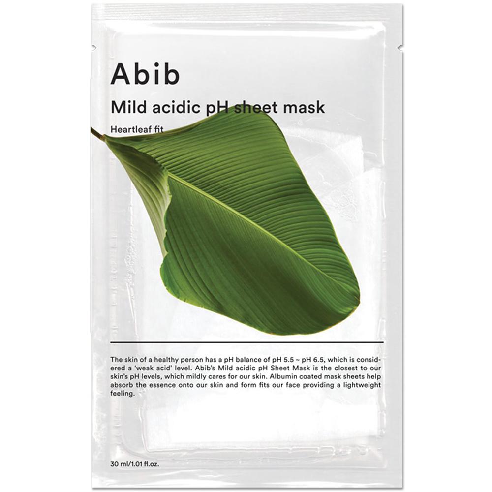 Mild Acidic pH Sheet Mask Heartleaf Fit-1