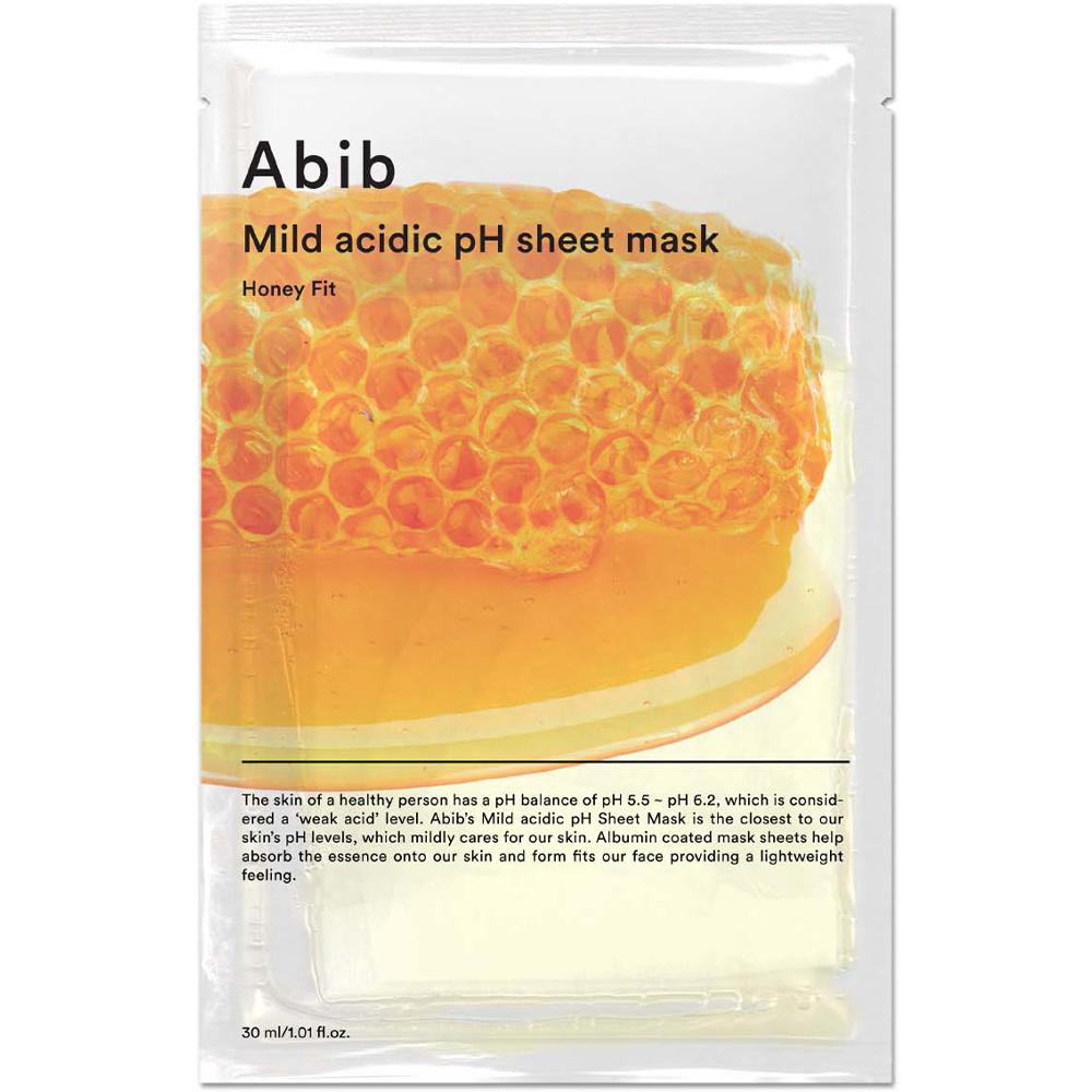 Mild Acidic pH Sheet Mask Honey Fit-1