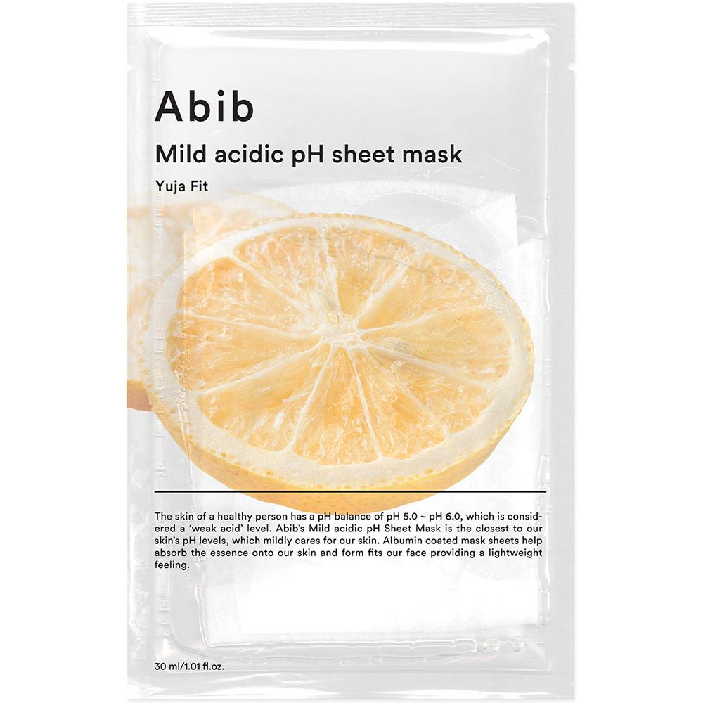 Mild Acidic pH Sheet Mask Yuja Fit-1
