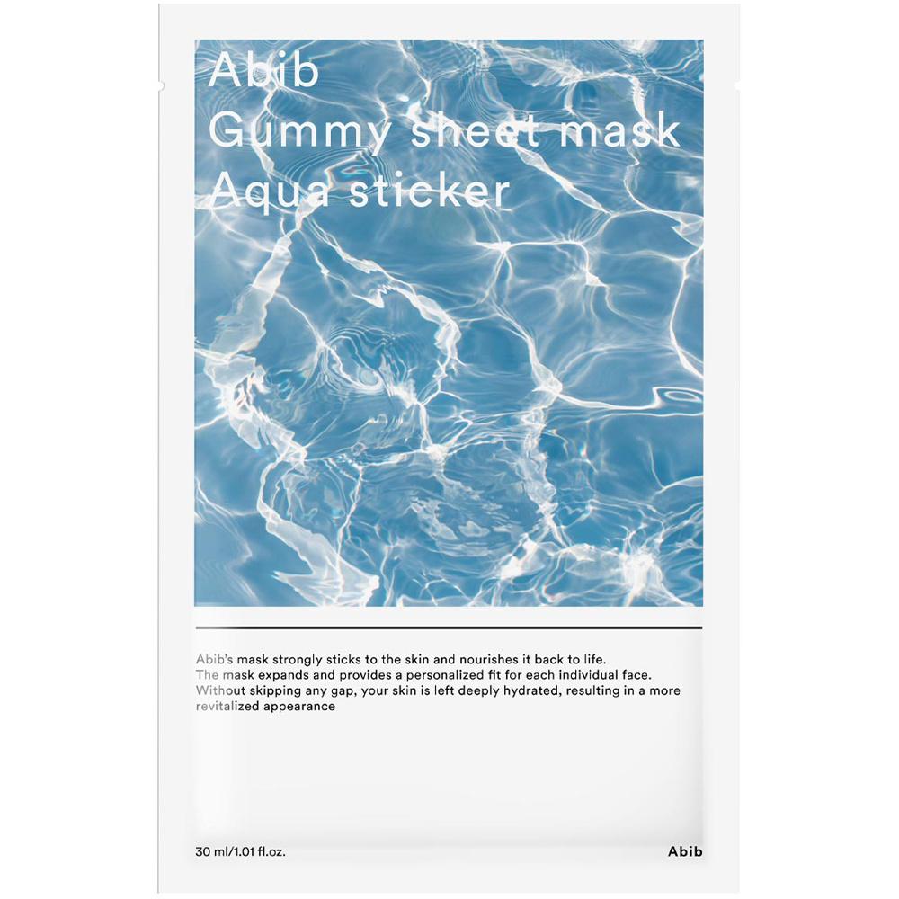 Gummy Sheet Mask Aqua Sticker-1