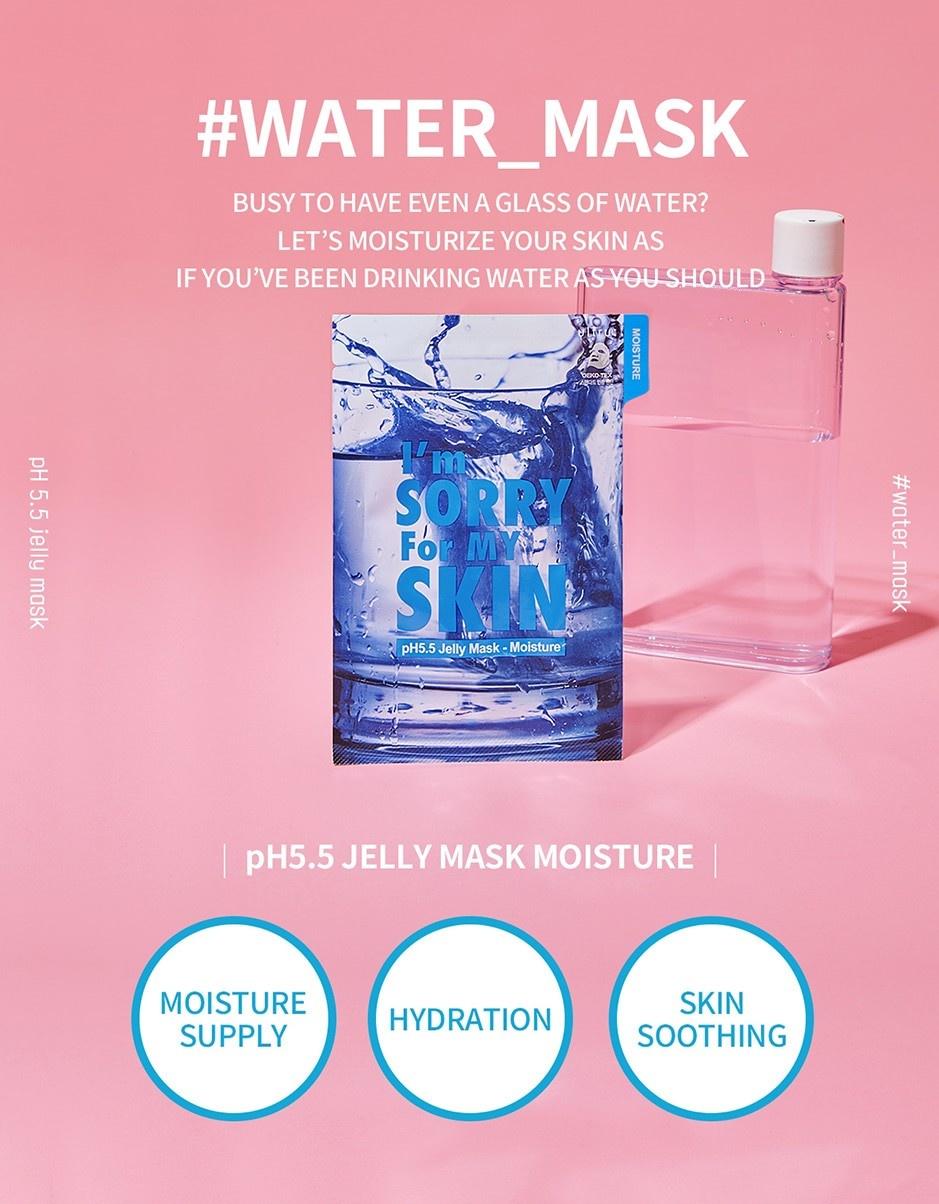 pH5.5 Jelly Mask [Moisture]-2