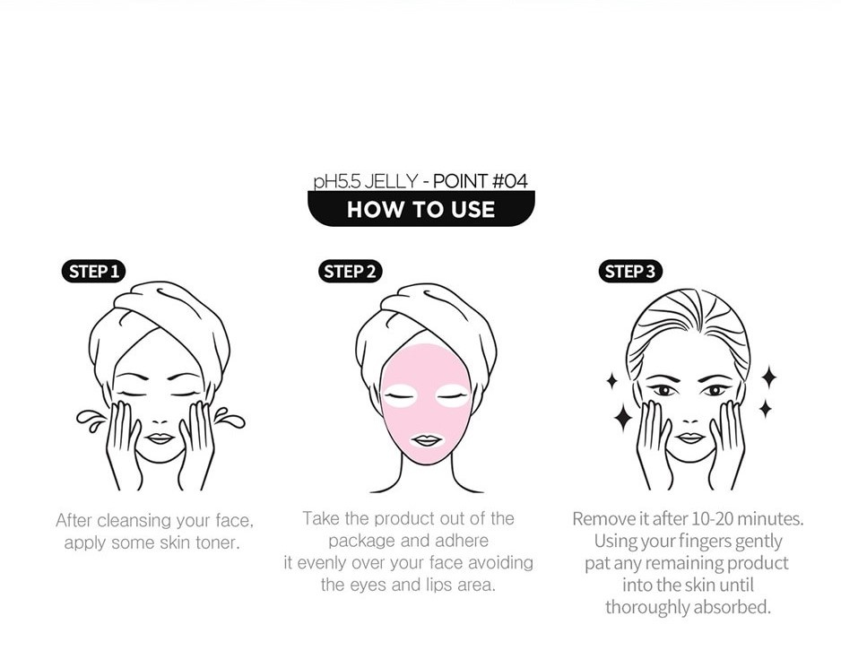 Jelly Sheet Mask Trial Mix (3+1 pcs)-6