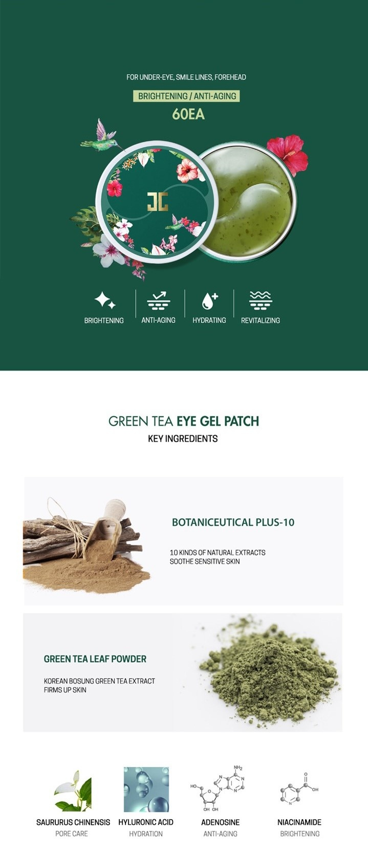 Green Tea Eye Gel Patch-3