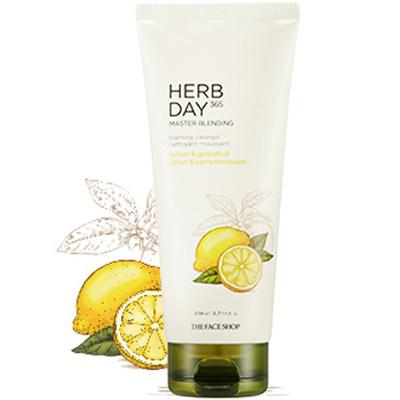 Herb Day 365 Cleansing Foam - Lemon&Grapefruit-1