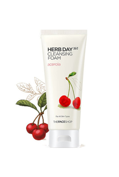 Herb Day 365 Cleansing Foam - Acerola