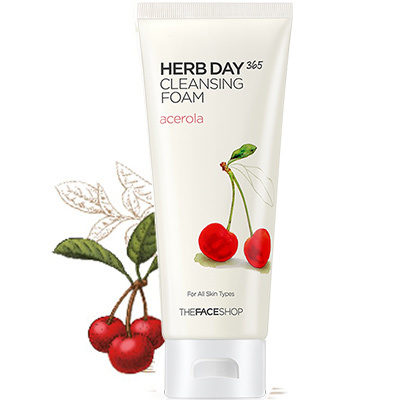 Herb Day 365 Cleansing Foam - Acerola-1