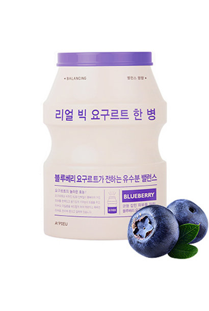Real Big Yogurt One-Bottle #Blueberry