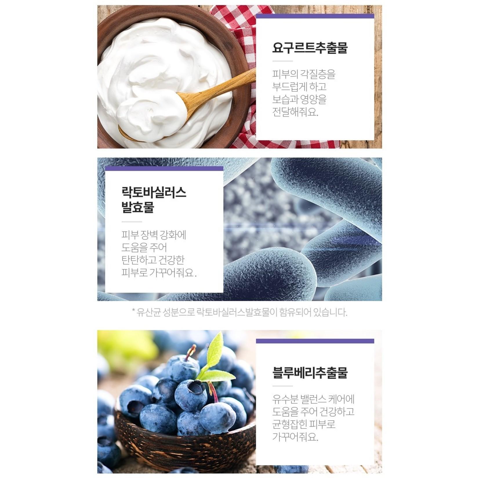A'PIEU Real Big Yogurt One-Bottle #Blueberry