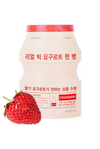 Real Big Yogurt One-Bottle #Strawberry