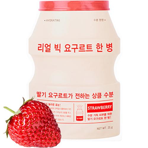 Real Big Yogurt One-Bottle #Strawberry-1