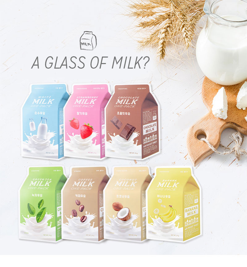 Milk One Pack #White Milk-2