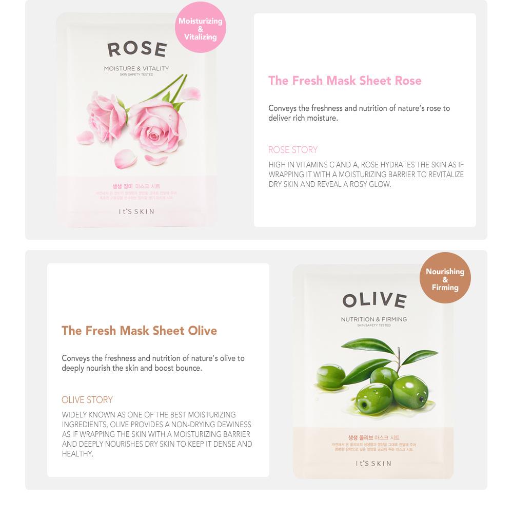 The Fresh Mask Sheet - Olive-6