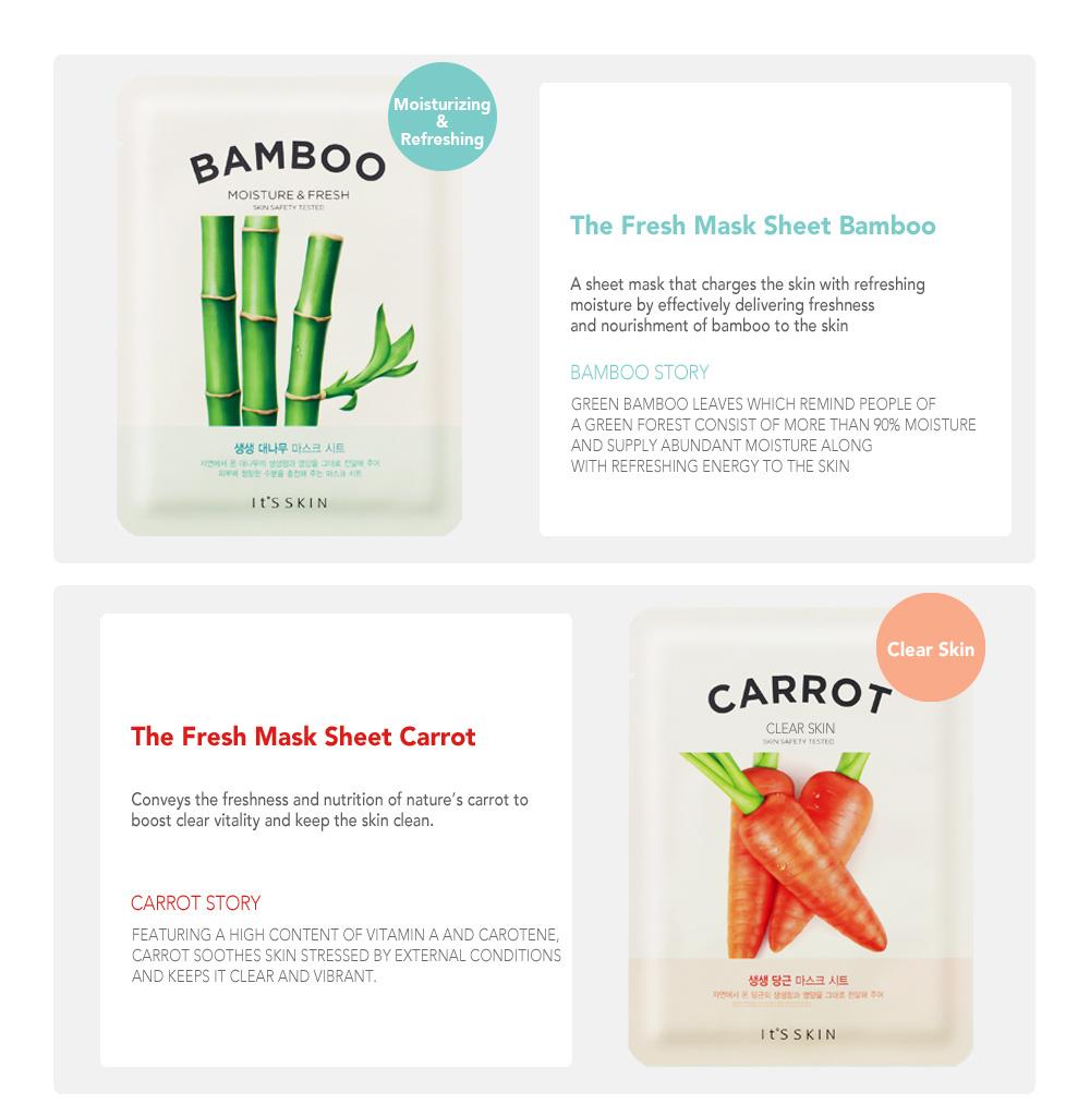 The Fresh Mask Sheet - Carrot-3