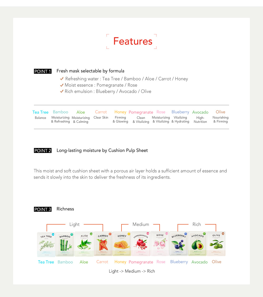 The Fresh Mask Sheet - Avocado-7
