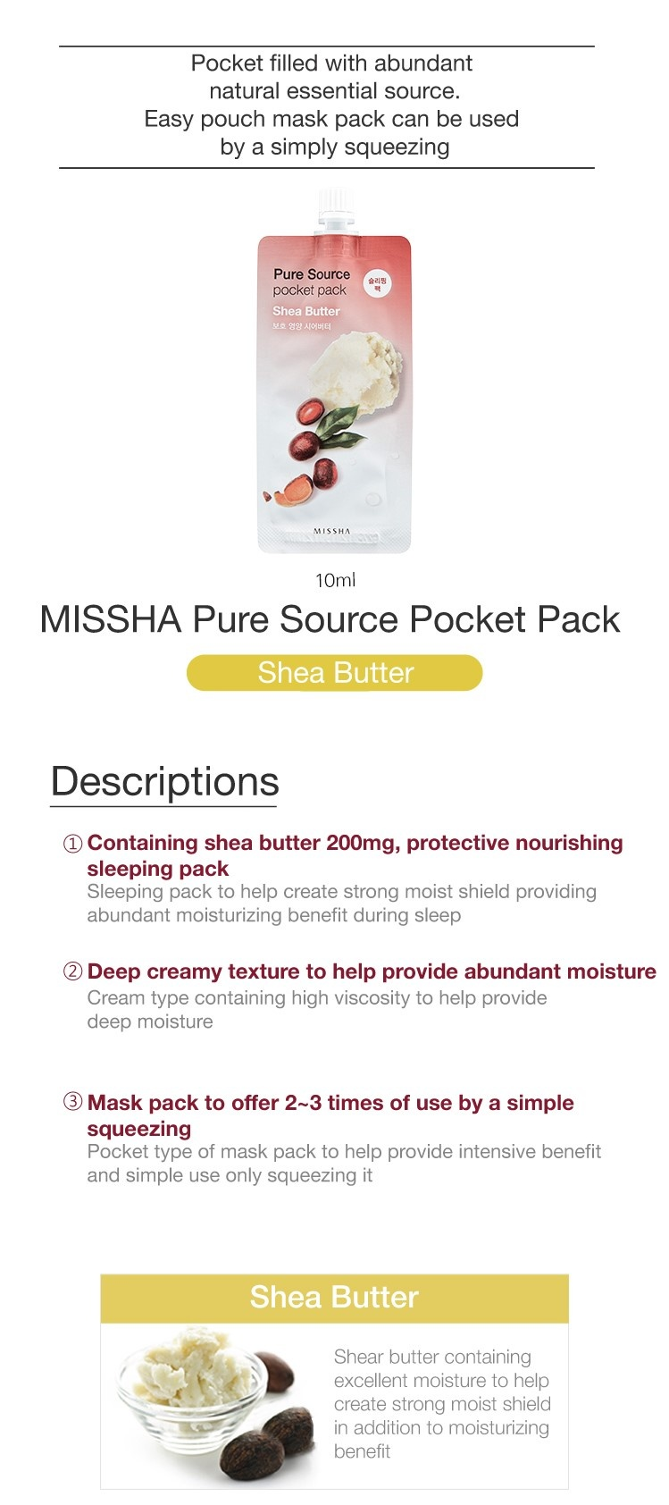 Pure Source Pocket Pack (Shea Butter)-3