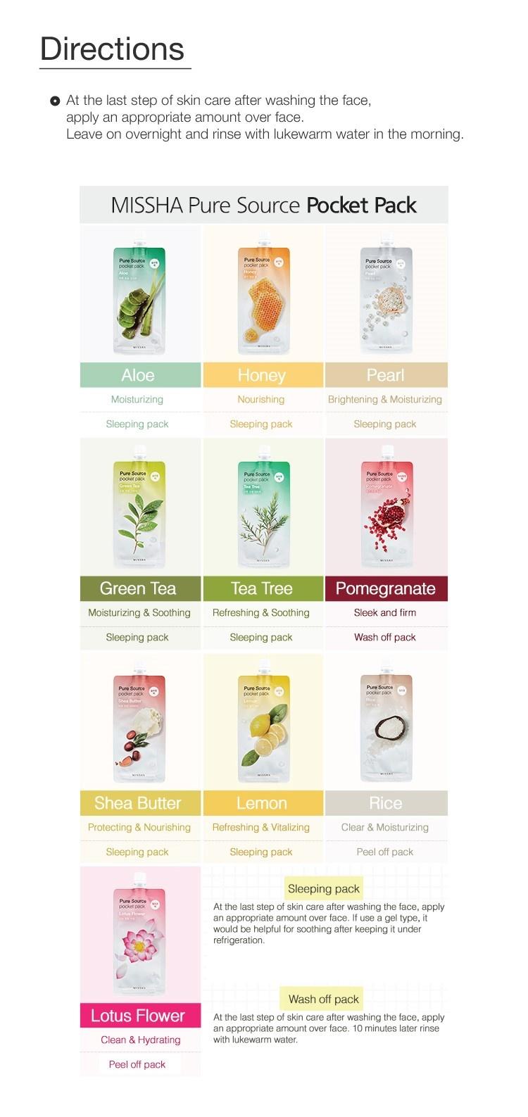 Pure Source Pocket Pack (Aloe)-5
