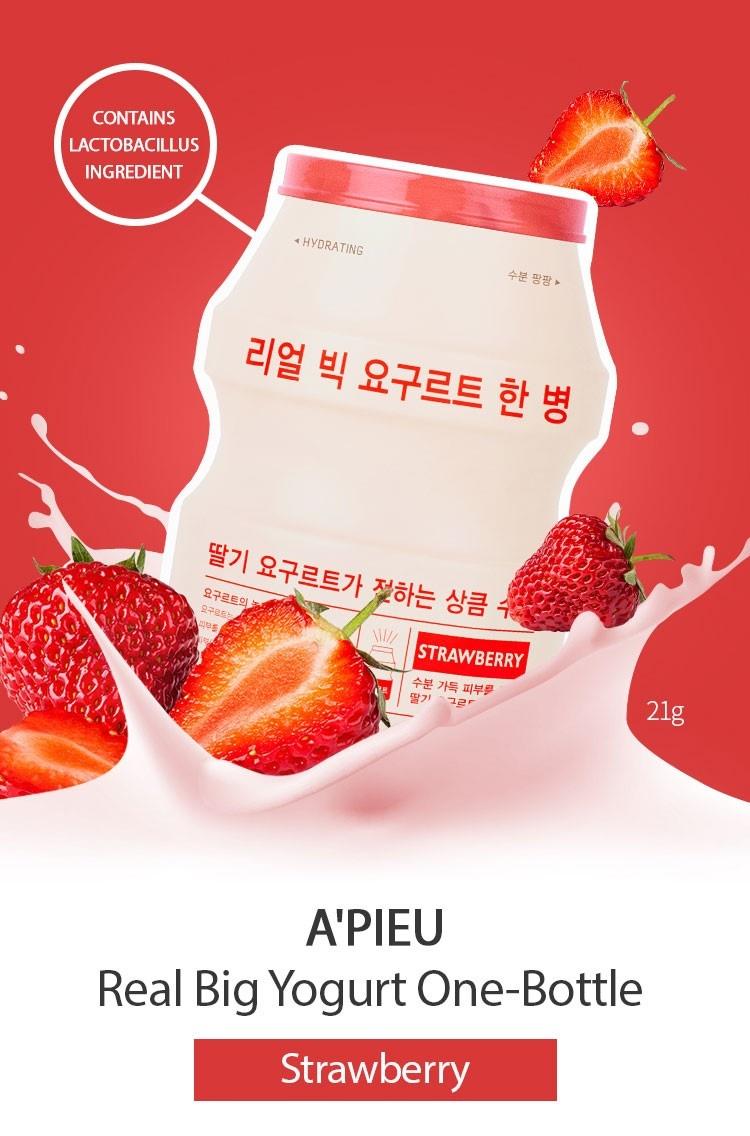 Real Big Yogurt One-Bottle #Strawberry-2