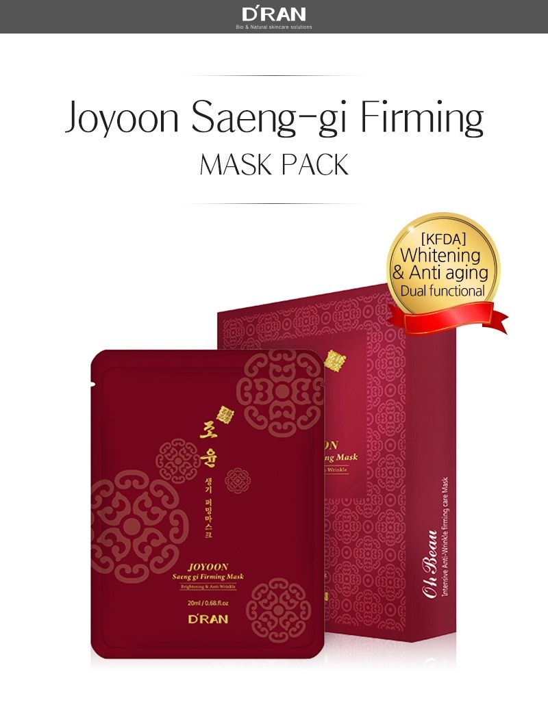 Joyoon Saeng Gi Firming Mask-2