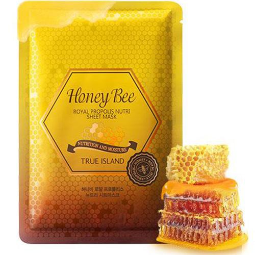 True Island Honey Bee Royal Propolis Nutri Sheet Mask-1