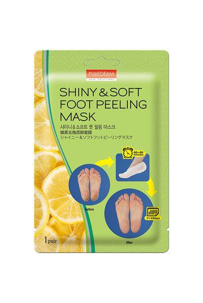 Shiny & Soft Foot Peeling Mask