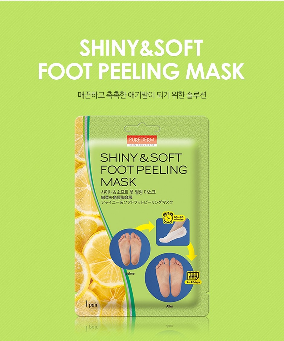 Shiny & Soft Foot Peeling Mask-2