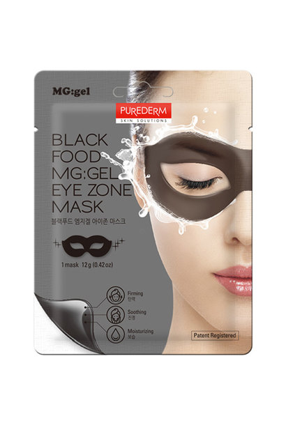 Black Food MG:GEL Eye Zone Mask