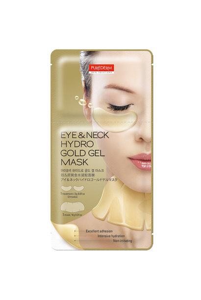 Eye & Neck Hydro Gold Gel Mask
