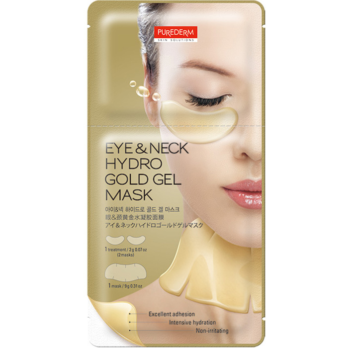 Eye & Neck Hydro Gold Gel Mask-1