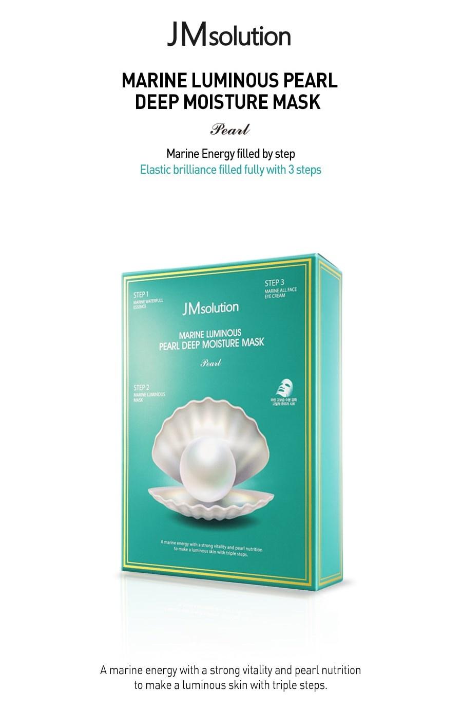 Marine Luminous Pearl Deep Moisture Mask-2