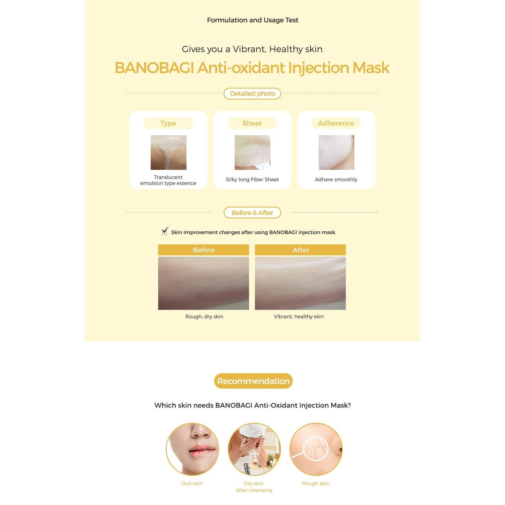 BANOBAGI Anti-Oxidant Injection Mask