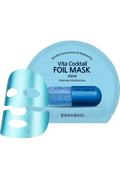 Vita Cocktail Foil Mask Aqua