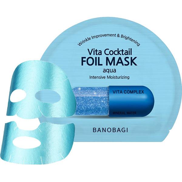 Vita Cocktail Foil Mask Aqua-1